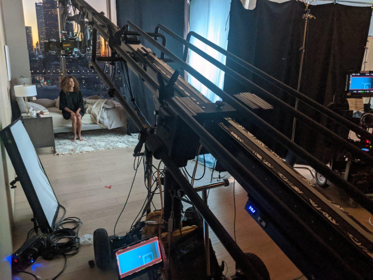 F21 Telescopic crane and Flight Head Mini 3