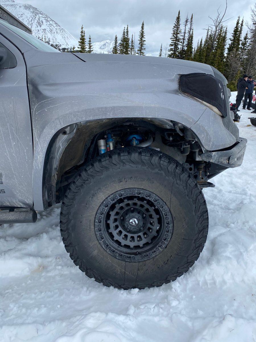 Russian Arm Toyota Tundra 18