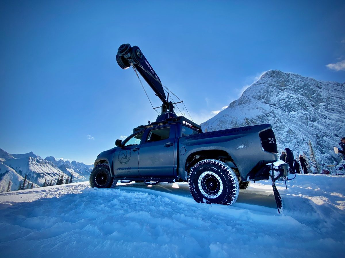 Russian Arm Toyota Tundra 19
