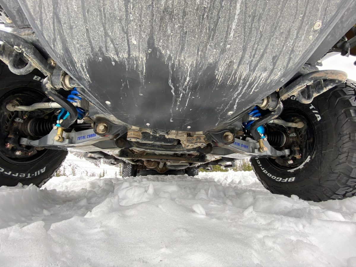 Russian Arm Toyota Tundra 20