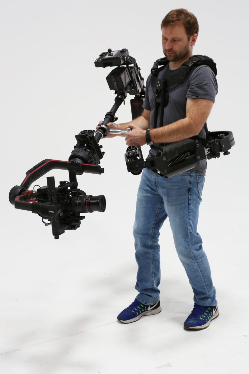DJI ronin2 with steadycam